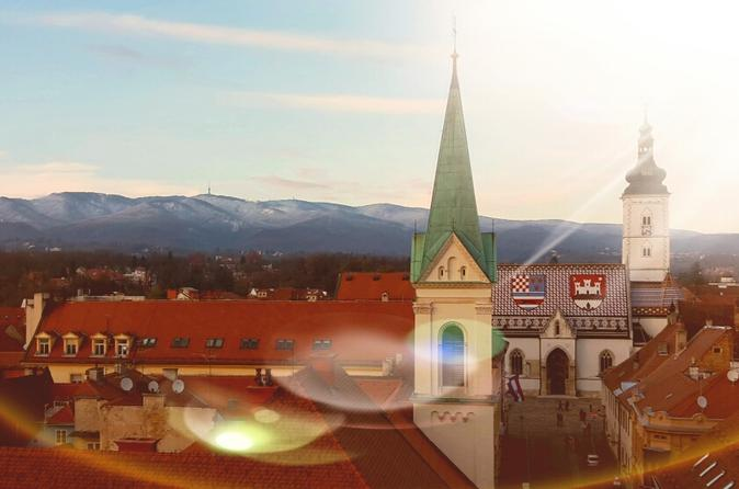 Running Tour Zagreb - Upper And Lower Town
