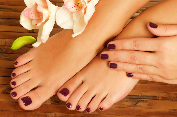 Sublime Beauty Package With 20-minute Free Fish Pedi - Athens
