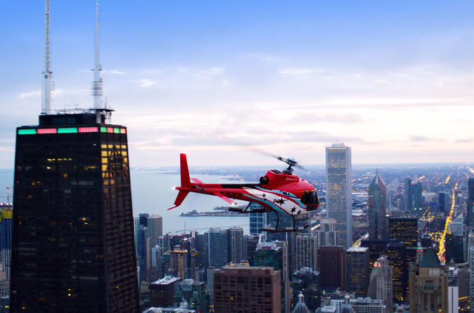Chicago Helicopter Tour Plus 360 Chicago Observation Deck