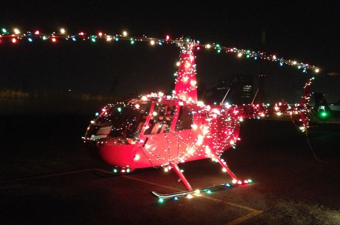 Chicago Helicopter Tour With Holiday Lights