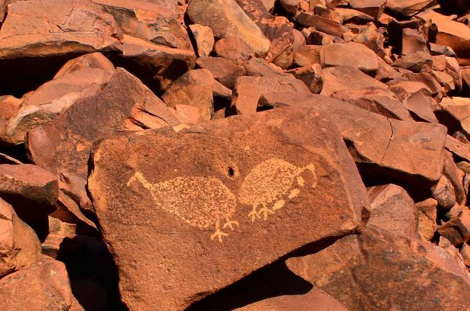 Aboriginal Rock Art Day Trip with Indigenous Guide from Karratha
