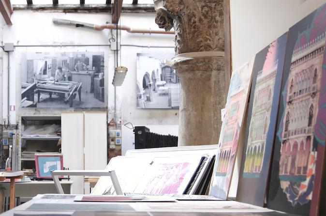 Silk-Screen Printing in Venice