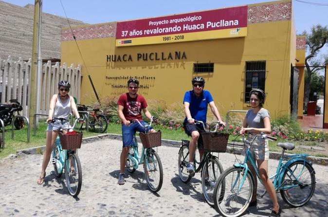 Lima Urban Bike Tour in Miraflores and San Isidro