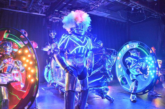 Tokyo robot restaurant cabaret show ticket in tokyo 256912