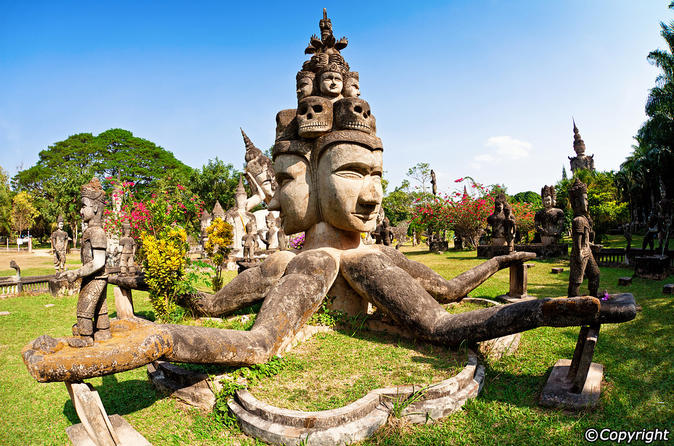 Private tour vientiane city sightseeing and buddha park in vientiane 257613