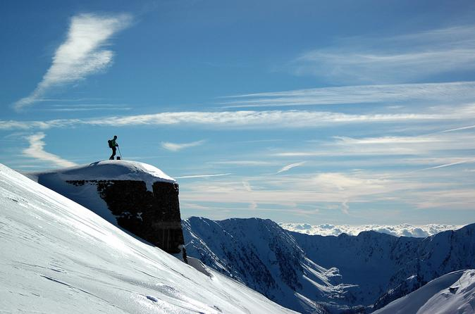 Snowshoeing In Mercantour From Nice