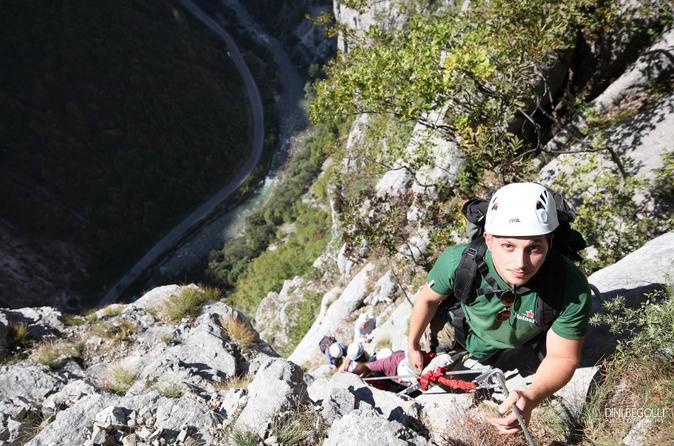 Via ferrata climb in peja 257273