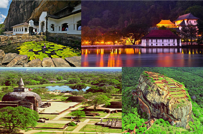 10-Night Sri Lanka UNESCO Heritage Sites Tour from Colombo