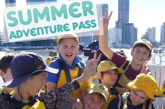 Brisbane Adventure Pass Including Abseiling, Stand-Up Paddleboarding, and Kayaking