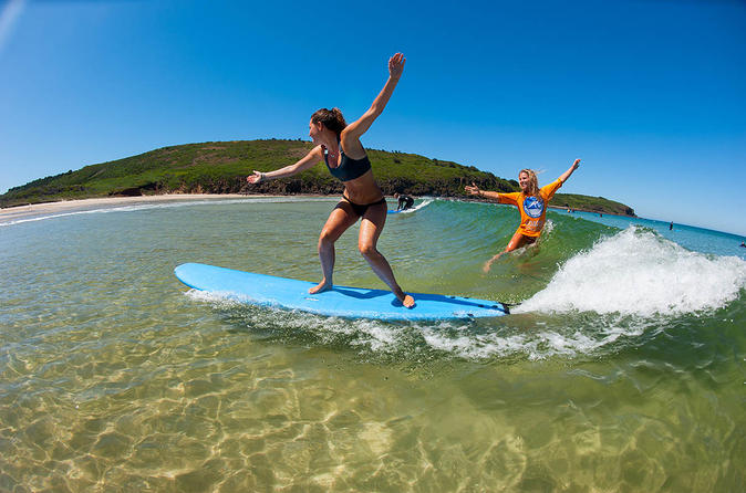 Learn to Surf Day Trip from Sydney