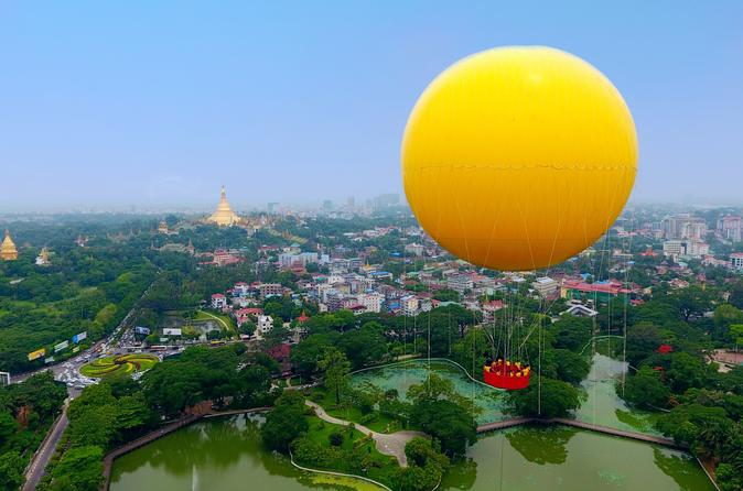 Mingalarbar Balloon In Yangon