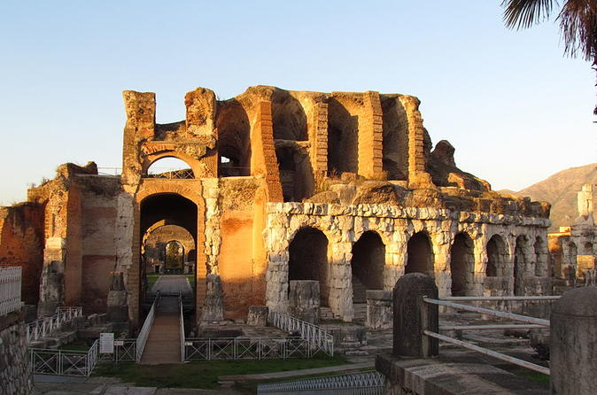 Caserta Royal Palace and Spartacus Amphitheater with private trasportation