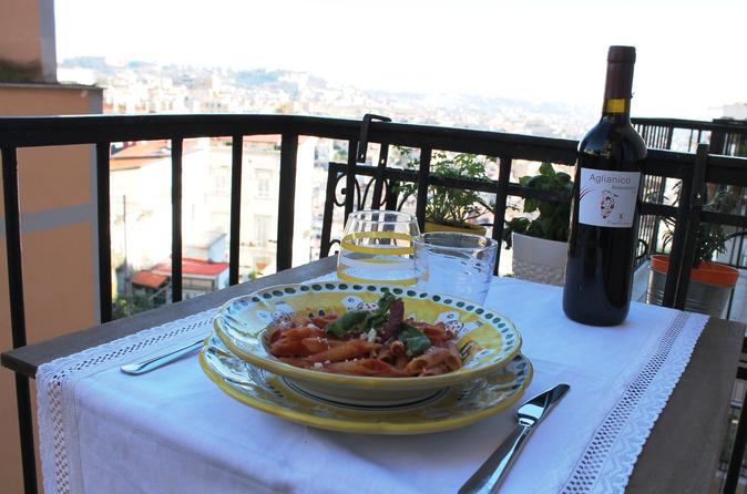 Naples City walk and traditional Home Cooked lunch
