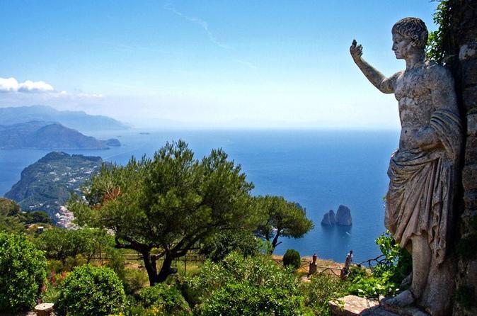 Shore Excursion: Pompeii and Capri Private Day Trip from Naples Port