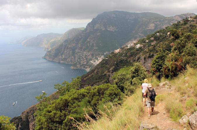 The Path of the Gods with private transfer from Amalfi
