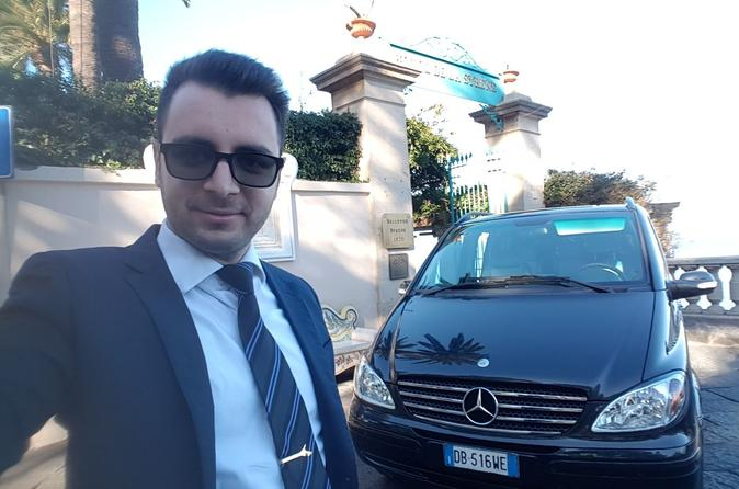 Transfer from Naples Airport to Sorrento