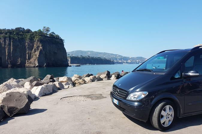 Transfer from Naples to Positano with 2 hours Private Tour in Herculaneum