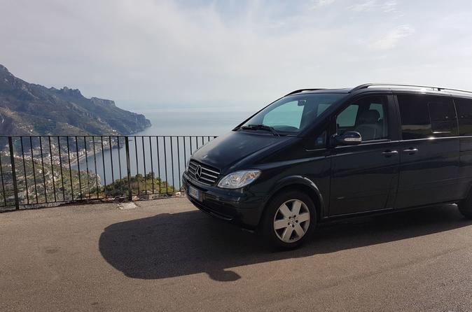 Transfer from Rome to Amalfi Coast with stop a Pompeii - Skip the line included