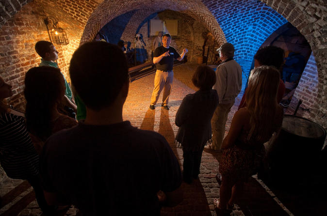 Charleston Ghost Tour with Provost Dungeon