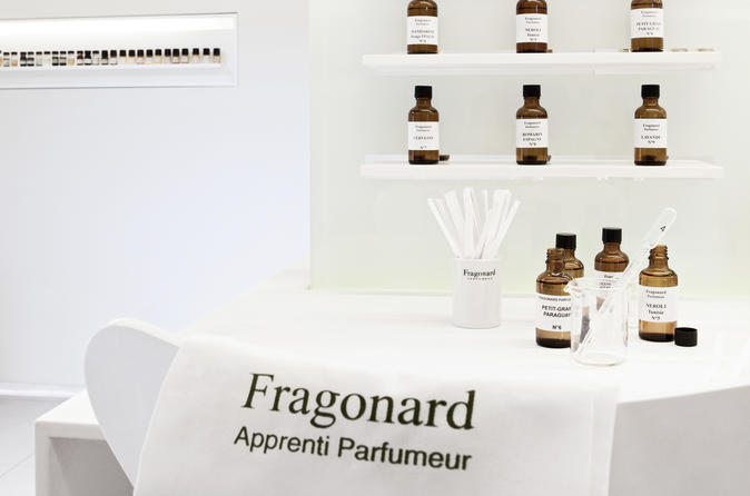 Perfume Creation Workshop In Cannes