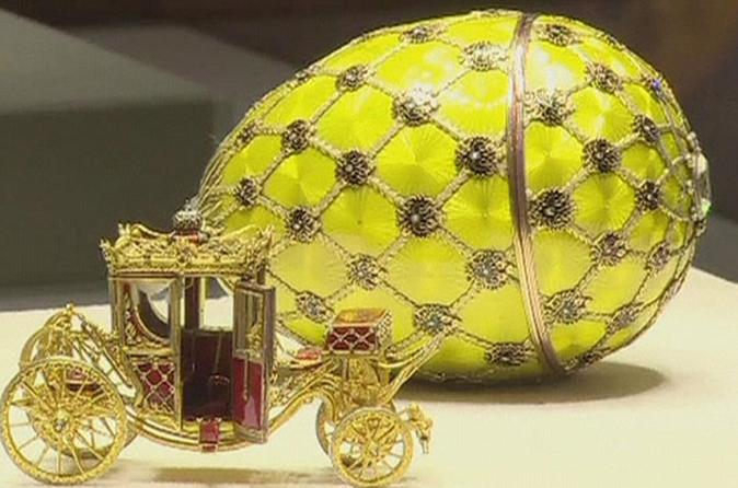 St. Petersburg Imperial Splendors and Faberge Museum 2-Day Tour