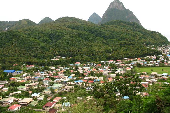 St Lucia Soufriere Tour