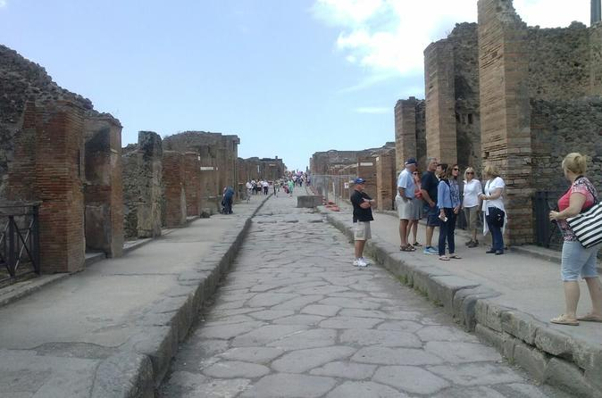 Pompeii Half Day Exploration Tour