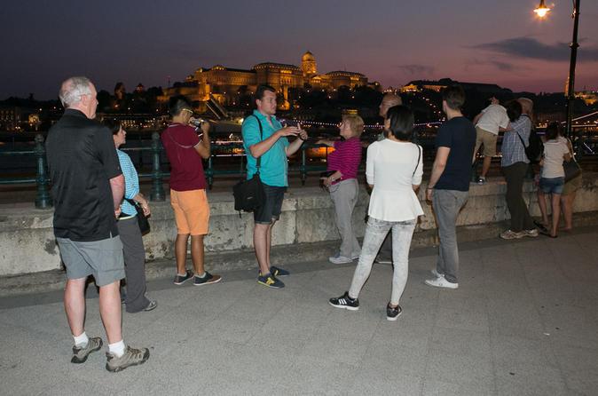 Budapest Night Stroll & Boat Cruise