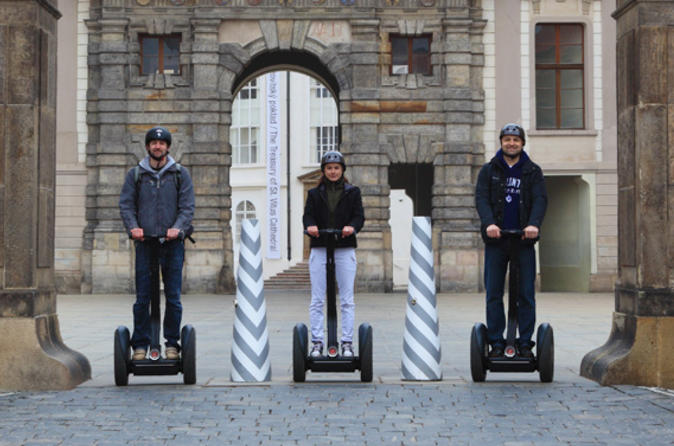 Private Tour: Prague City Segway Tour