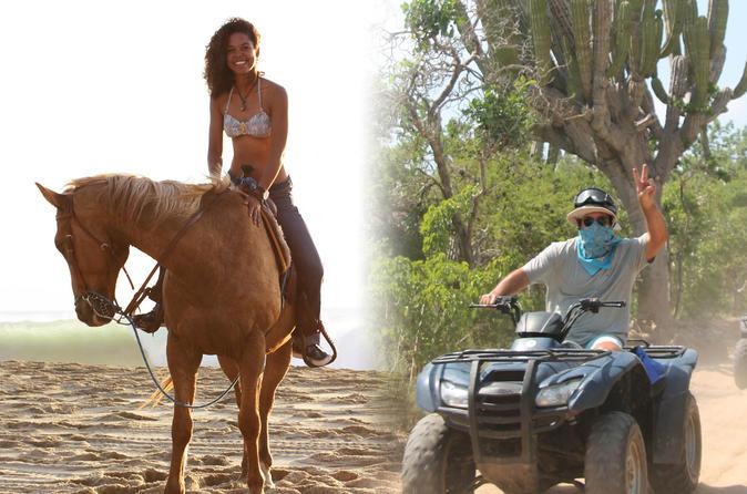 ATV and Pacific Horseback Riding Combo Tour