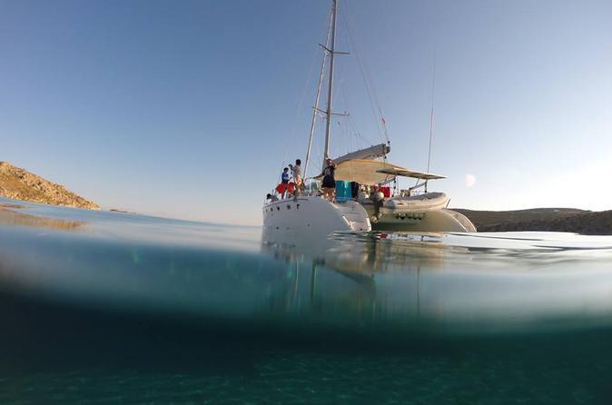 Mykonos catamaran sailing tours in m konos 259322