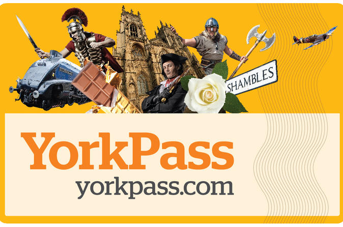 The york pass including hop on hop off tour in york 259475