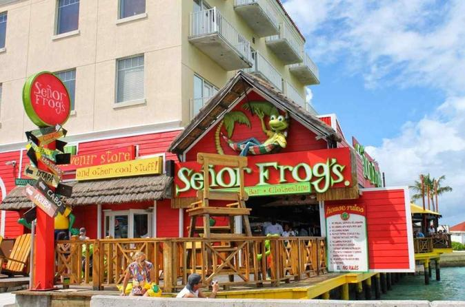 Nassau Senor Frog's Food and Drink Package with Transportation
