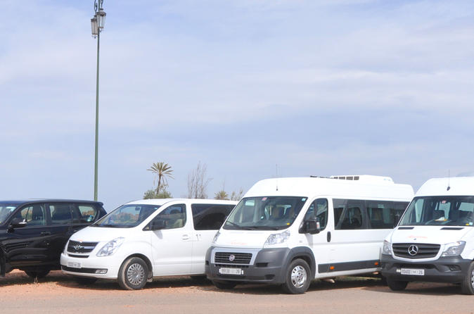 Private Arrival Transfer: Casablanca Airport to Marrakech Arrival Hotel