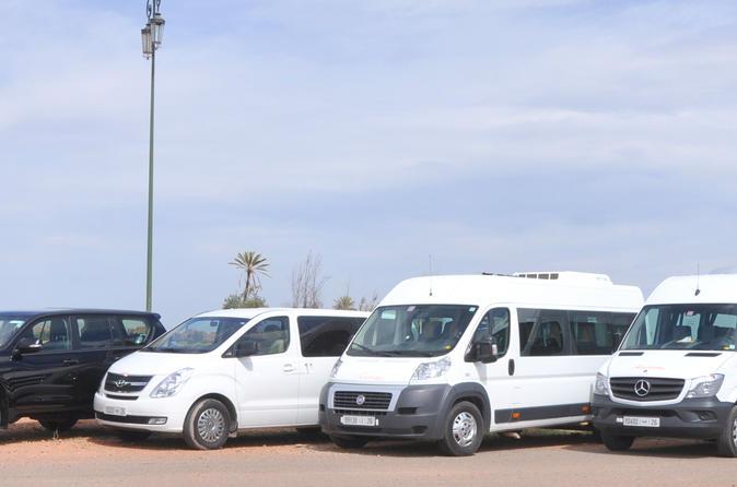 Private Arrival Transfer: Casablanca Airport To Marrakech Arrival Hotel
