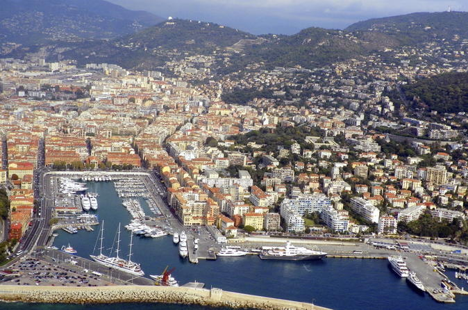 Nice Departure Transfer: Villefranche Port to Nice Airport