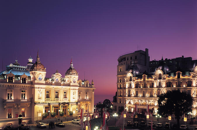 Private Tour: Monaco at Night by Minivan