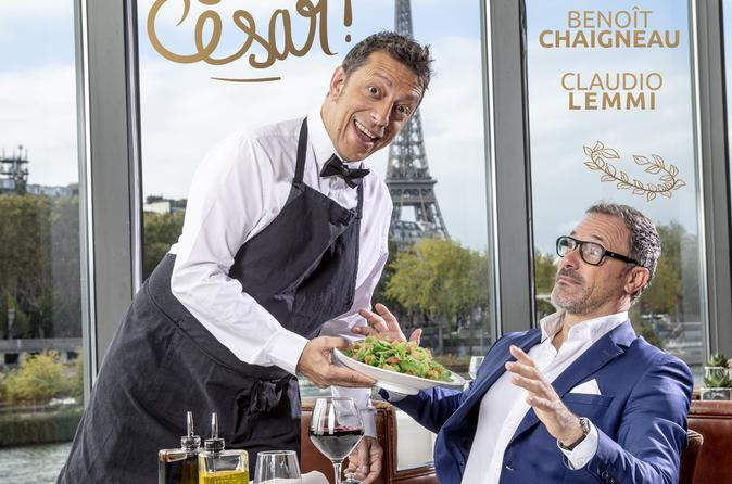 Arrête tes salades César !
