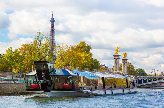Bateaux Mouches Lunch Christmas Cruise