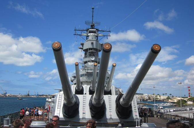 Excursão por USS Missouri, Arizona Memorial e Pearl Harbor