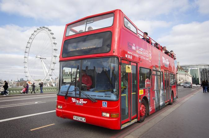 London City Tour Hop-On Hop-Off with Free Walking Tour and River Cruise