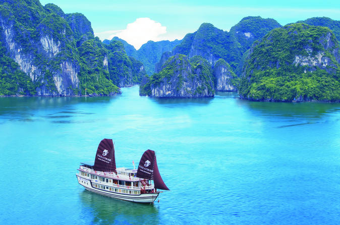 2 day halong bay cruise on the viola from hanoi in hanoi 261370