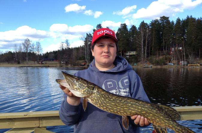 Full-Day Fishing on Stromsholms Canal