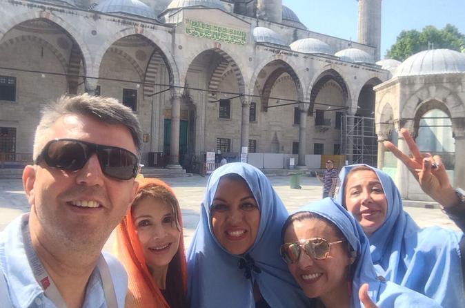 2 Days Private Combo City Istanbul & Cappadocia & HotAir Balloon Tour