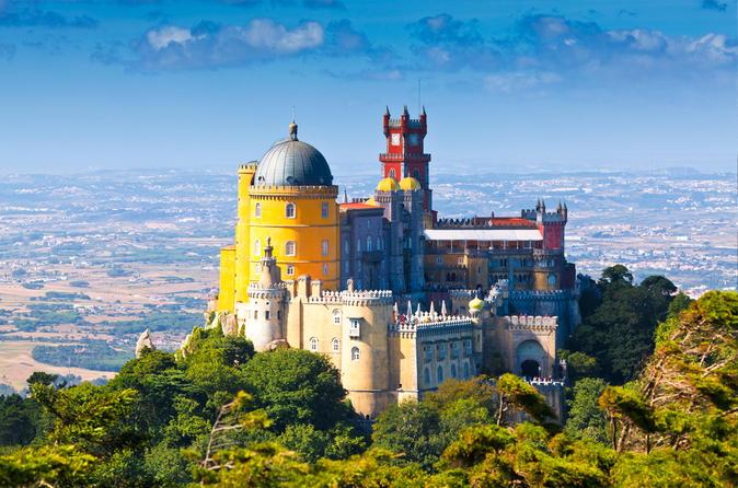 Viagem de um dia inteiro para Sintra, Cascais e Estoril partindo de Lisboa em veículo particular