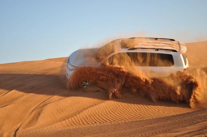 Dubai Desert Safari: Land Cruiser, Camel Ride, Dune Bashing