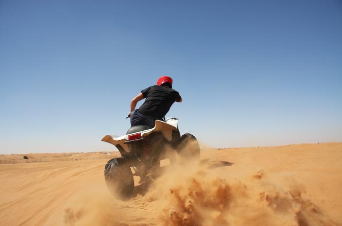 Exciting Morning Desert Sports in Dubai