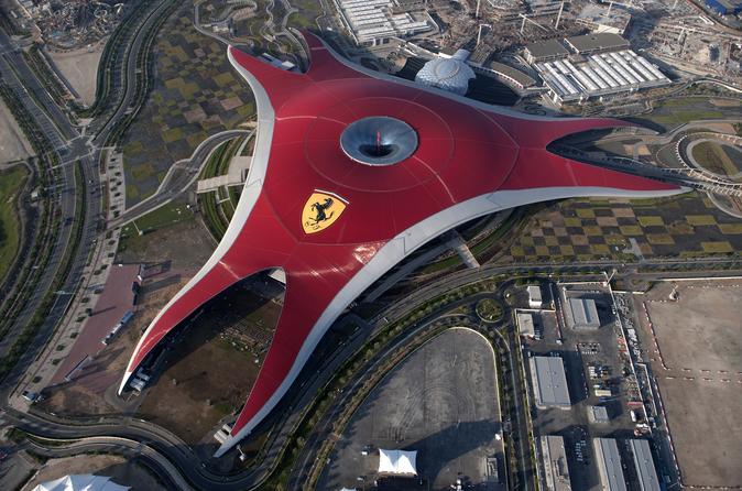 Ferrari World Abu Dhabi with Transfers from Dubai