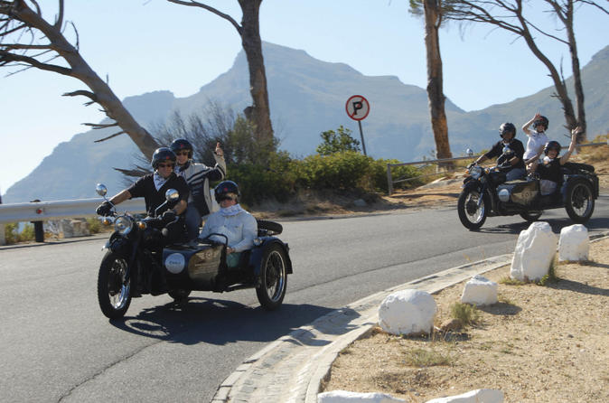 Cape winelands tour by chauffered sidecar in cape town 41466