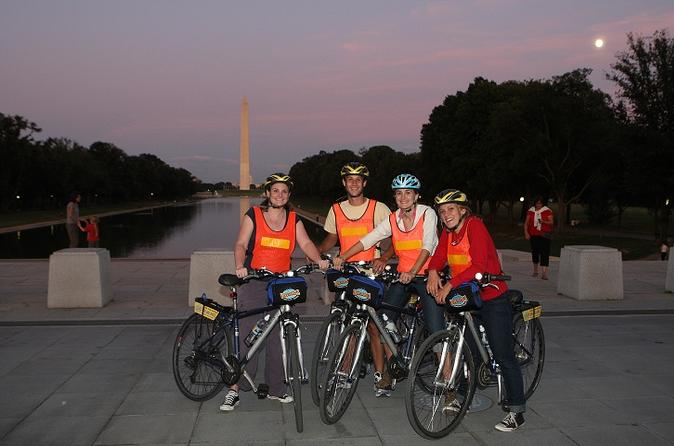 Washington dc sites at night bike tour in washington d c 49687